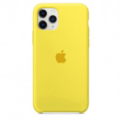Чехол Apple Silicone Case Fluorescence Yellow (HC) для iPhone 11 Pro
