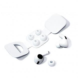 Силиконовые амбушюры для Apple AirPods Pro (S/L) (белый)