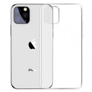 Силиконовый чехол Baseus Simple Apple iPhone 11 Pro Max (Clear)