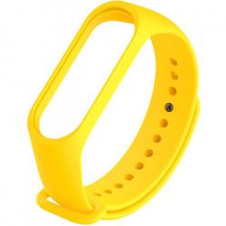 Силиконовый ремешок для Xiaomi Mi Band 5 (Желтый / Neon Yellow)