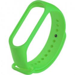 Силиконовый ремешок для Xiaomi Mi Band 5 (Зеленый / Green)