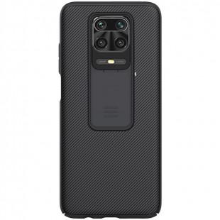 Чехол накладка Xiaomi Redmi Note 9s Nillkin CamShield Black