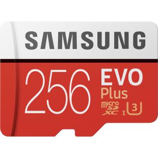 Карта памяти Samsung EVO Plus 256GB microSDXC UHS-I (MB-MC256HA/RU)