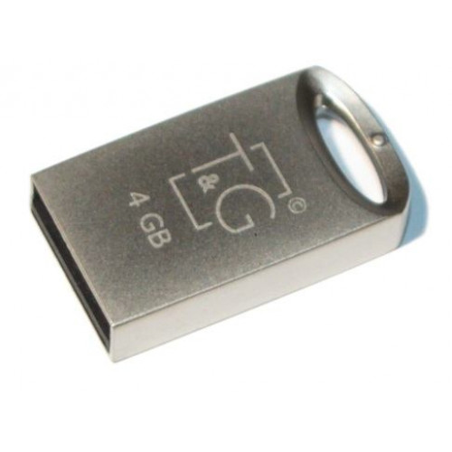 Флешка T&G 105 Metal Series 4GB Silver (TG105-4G)