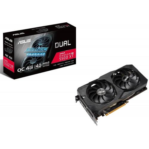 Видеокарта Radeon ASUS RX 5500 XT 4GB GDDR6 EVO OC