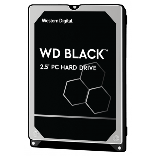 HDD SATA 1TB WD Black (2.5′′, 1TB, 64MB, 7200 RPM, SATA 6 Gb/s)