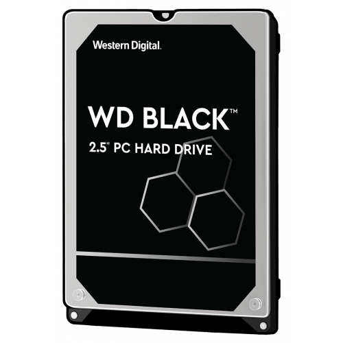 HDD Mobile WD Black (2.5′′, 1TB, 64MB, 7200 RPM, SATA 6 Gb/s)