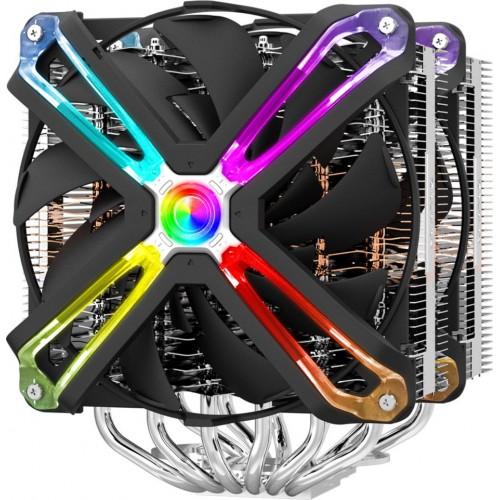 Кулер процессорный ZALMAN CNPS20X ARGB 6mm x 6 2 x 140mm 800-1500rpm TDP 300W