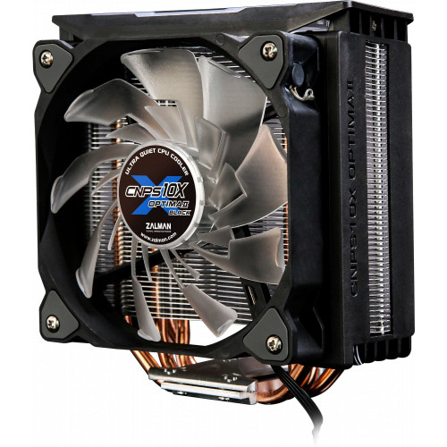 Кулер процессорный ZALMAN CNPS10X Optima II Black RGB 6mm x 4 120mm 800-1500rpm TDP 200W