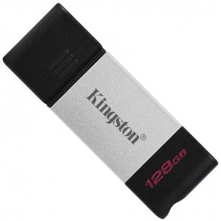 Флешка Kingston 128GB  DT80 Type-C, USB 3.2 DT80/128GB