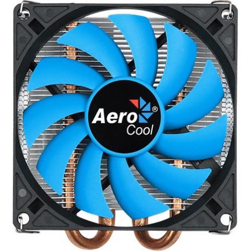 Кулер процессорный AEROCOOL Verkho 2 Slim 6mm x 2 90mm 1000-2300rpm TDP 105W