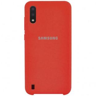 Силикон Original Silicone Case Samsung A01/A015  (Коралловый)