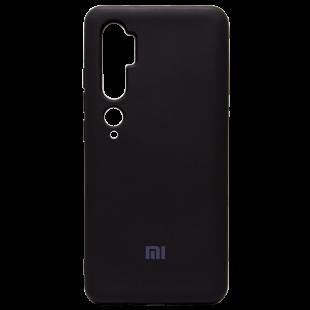 Силикон Original Silicone Case Xiaomi Mi 10 (Черный)