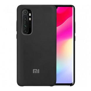 Силикон Original Silicone Case Xiaomi Mi 10 Lite (Черный)