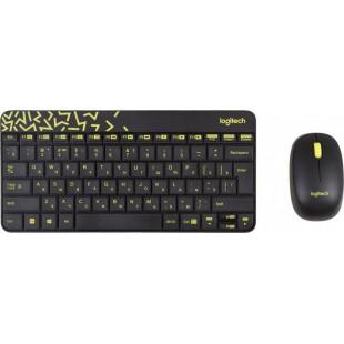 Беспроводной комплект (клавиатура, мышь) Logitech MK240 Black USB (920-008213)