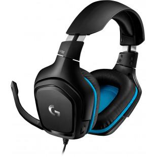 Гарнитура Logitech G432 Black (981-000770)