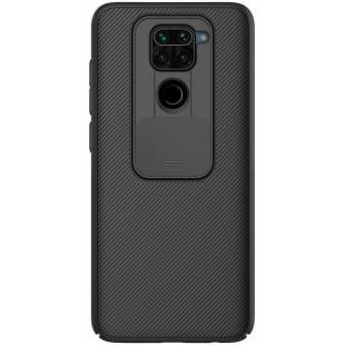 Чехол накладка Xiaomi Redmi Note 9 Nillkin CamShield Black