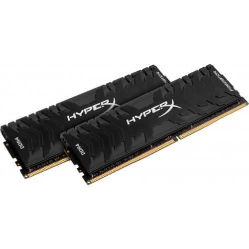 Оперативная память DDR4 Kingston 16GB KIT(2x8GB) 2666MHz HyperX Predator Black (HX426C13PB3K2/16)