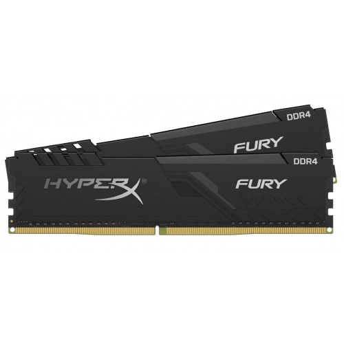 Оперативная  память Kingston DDR4 3733 32GB KIT (16GBx2) HyperX Fury Black