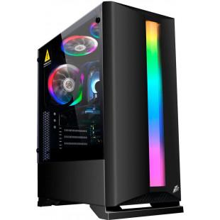 Корпус 1stPlayer Rainbow R6-R1 Color LED Black без БП