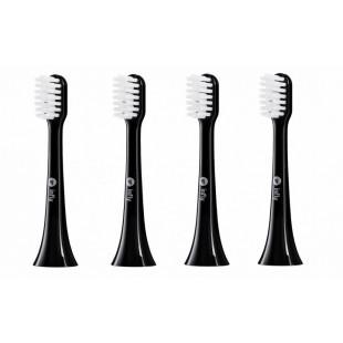 Насадки для зубной щетки Xiaomi inFly Toothbrush Head for PT02 Black (4 насадки)